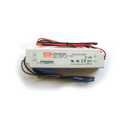 MeanWell LED Power supply LPV-60-24 UL Component Waterproof 60W Driver Transform